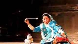 Terah Taali dancer in Udaipur