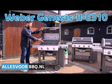 weber genesis ii e 310 review youtube. Black Bedroom Furniture Sets. Home Design Ideas