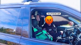 COP CATCHES ME DOING DONUTS *THIS HAPPENED* 😱