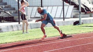 Armando Manoku hamstring injury 400M