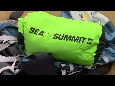 SEA to SUMMIT-13 Liter Lightweight Dry Sack by TheGearTester