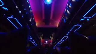 Dj bus malam full strobo
