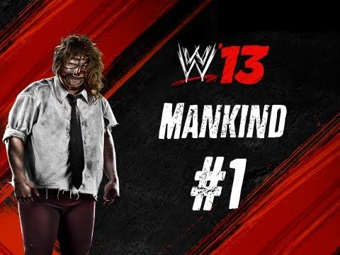 WWE '13 Mankind #1: Rock Bottom - The Rock Vs. Mankind