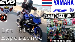 YAMAHA R6 RIDE REVIEW TO POONSAP MARKET (RIDER'S PARADISE IN THAILAND)