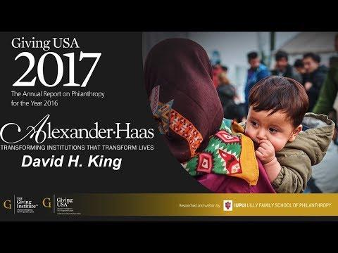 Giving USA 2017 Presentation, Alexander Haas