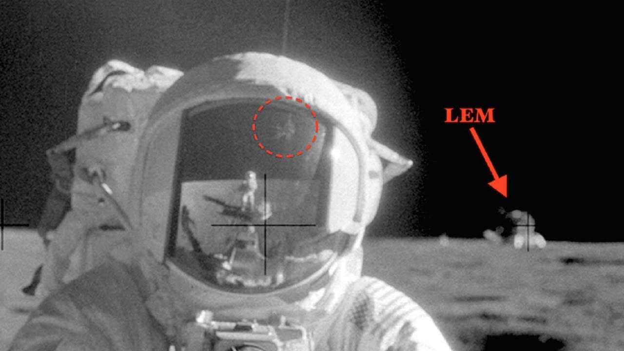 """UFO Alien วัตถุคล้ายสิ่งปลูกสร้างบน """"ดวงจันทร์"""" (พิจารณากันเองนะ)"""