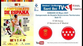 Cto España Selecciones Autonómicas Sub-13 / 3º Navarra vs 4º Madrid