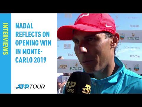 Rafa Reflects On Opening Win In Monte-Carlo 2019