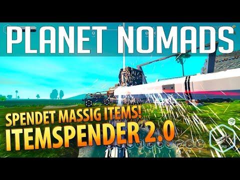 PLANET NOMADS #031 | Itemspender 2.0 - spendet massig Items | Gameplay German Deutsch