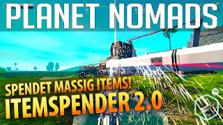 PLANET NOMADS #031 | Itemspender 2.0 - spendet massig Items | Gameplay German Deutsch thumbnail