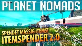 PLANET NOMADS #031 | Itemspender 2.0 - spendet massig Items | Gameplay German Deutsch thumbnail