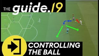 MASTERING THE BALL CONTROLFIRST TOUCH  Reduce Bad Touches amp; IMPROVE Chance Creation FIFA Tutorial