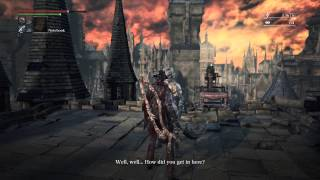 Bloodborne - Secret gesture - How to be friends with Djura