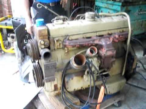 Cummins 6at 34 Turbo Diesel Youtube