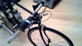 как собрать велотренажер из велосипеда