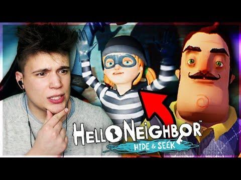 CÓRKA SĄSIADA KRADNIE! 🤷 - Hello Neighbor: Hide and Seek #2