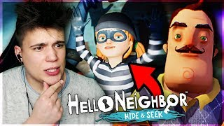 CÓRKA SĄSIADA KRADNIE!  - Hello Neighbor: Hide and Seek #2