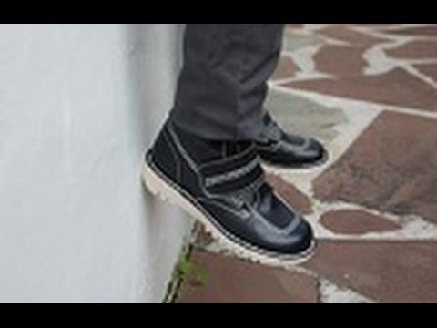 Botas Para Niños Con Velcro Zapatos Vestir Y Cole Online En Pisamonas