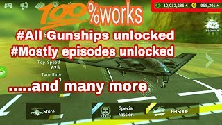 Hack GUNSHIP BATTLE Latest Version #not Mooded Apk#new Method