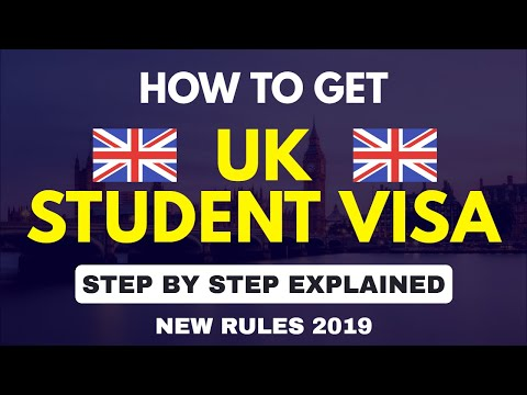 UK STUDENT VISA 2019 | Step By Step Process | New Rules | Documents | Cost | Interview | Tier 4 Visa