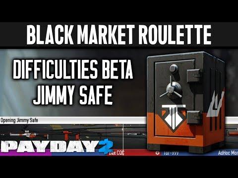 BLACK MARKET ROULETTE: Jimmy Safe [PAYDAY 2]