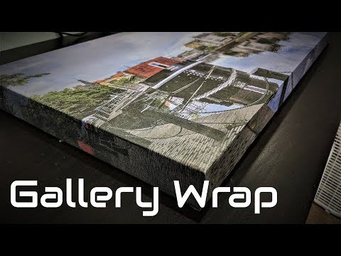 How To Make A Gallery Wrap Picture Frame