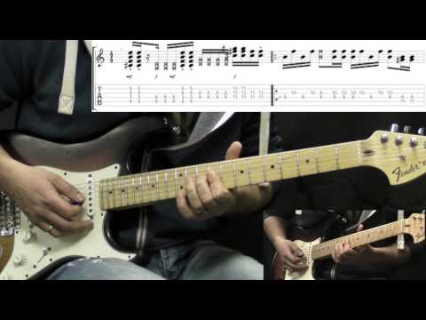 Jimi Hendrix - Freedom - Rhythm Guitar Rock Lesson (with Tabs)