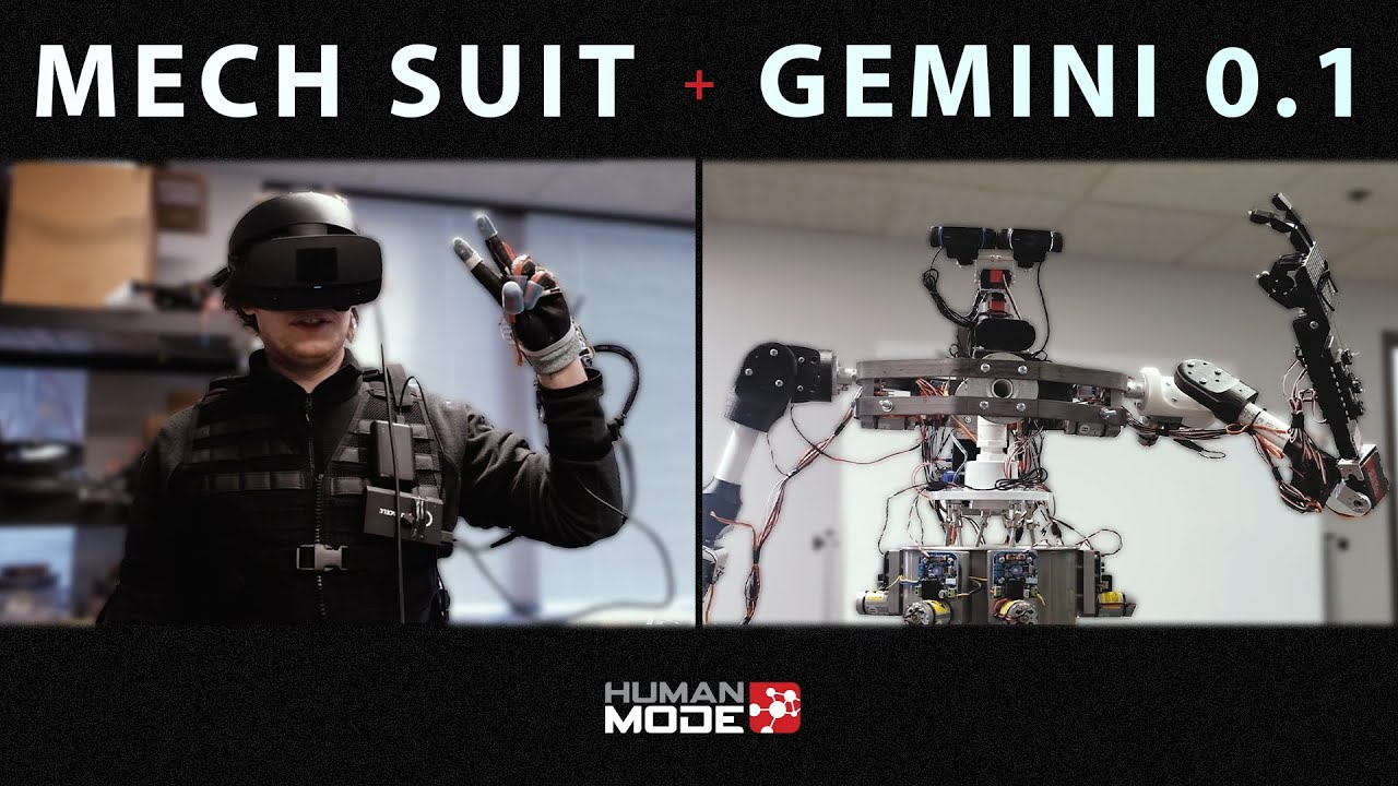The Mech Suit™ – Human Mode Robotics