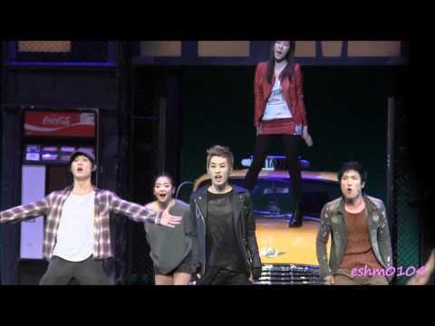 34 Super Junior  Eunhyuk musical FAME with Tiffany