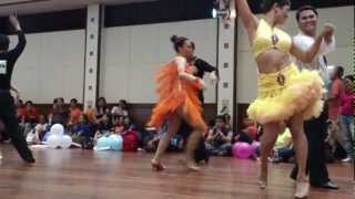 2012 DOLE Sportsfest - Ballroom Dancing Competition (Leo and Aileen) - by: JRAbitria