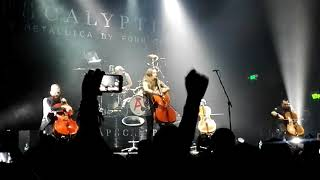 Apocalyptica-Nothing Else Matters-Plays Metallica By Four Cellos, Bogotá, Colombia 19/11/17-
