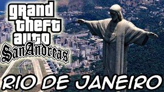 GTA San Andreas – Rio de Janeiro Mod
