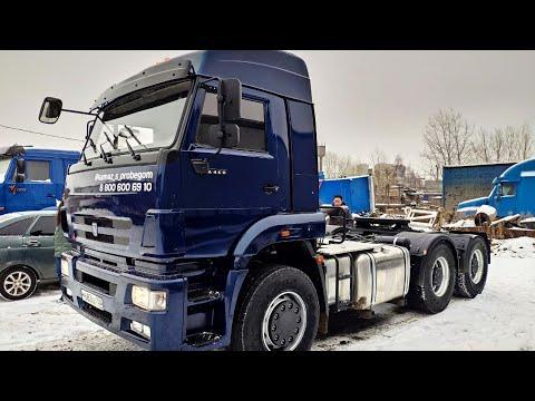 Отгрузка седельного тягача КамАЗ-6460 клиенту Сергею из Москвы