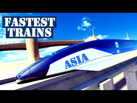 Top 10 Fastest High Speed Trains in Asia 2019