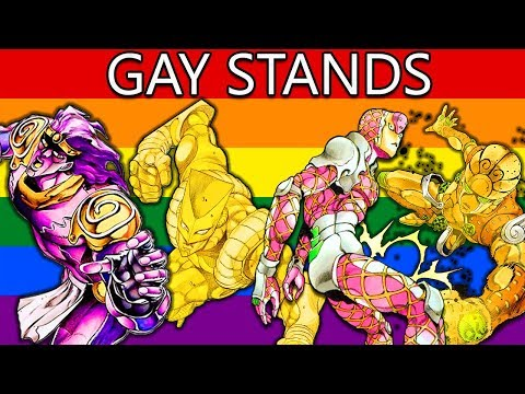 Ranking Jojo Stands From Straightest to Gayest