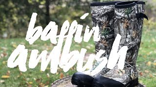 Excellent Waterproof Rubber Boots | Baffin Ambush Review