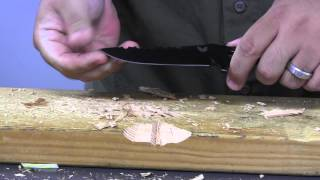 Benchmade 375 Adamas Test and Demonstration