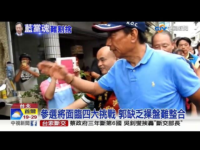 宣布退選2020! 郭台銘:永遠的中華民國派│中視新聞 20190917