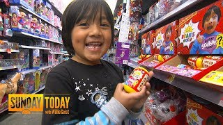 How This 7-year-old Grew a Multimillion-dollar Empire With 'Ryan ToysReview' | Sunday TODAY