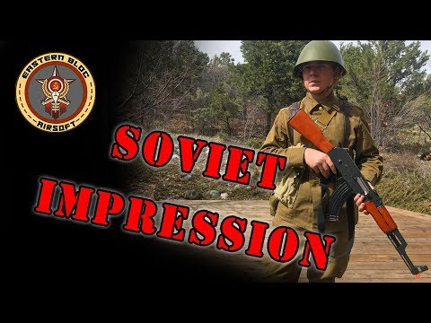 Soviet Red Army Soldier Impression