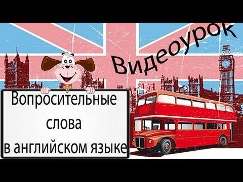 Видеоурок по английскому языку: Вопросительные слова в английском языке