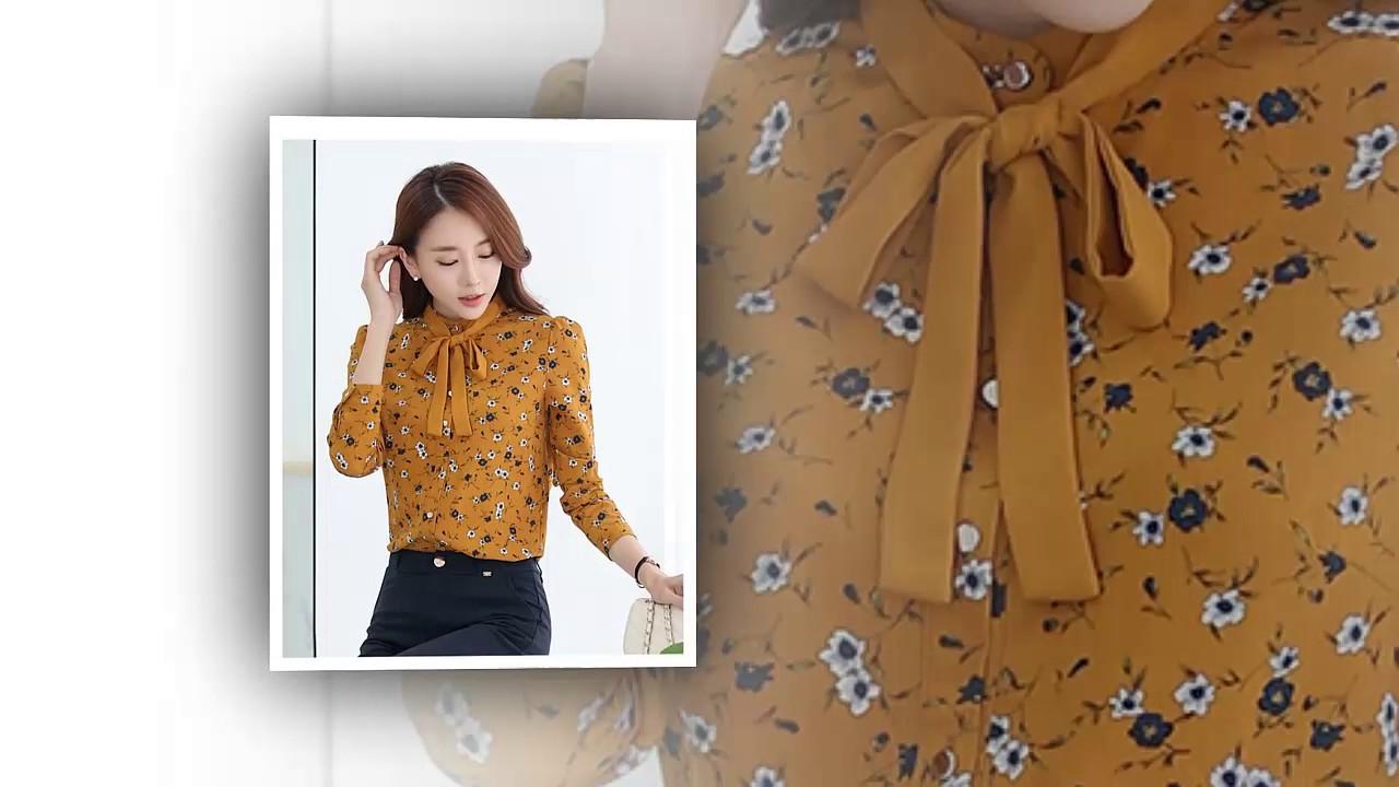 10 kiểu áo sơ mi dễ thương nhất  | Áo sơ mi kiểu Hàn Quốc