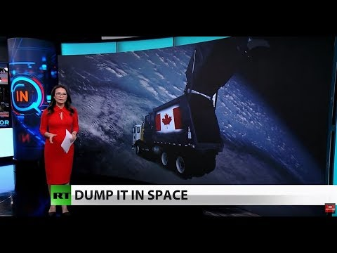 Canada wants help taking out the trash, in SPACE