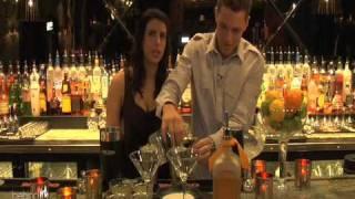 Platinum Margarita With Joe O'connor At Scorpion Bar, Foxwoods Resort, Ct