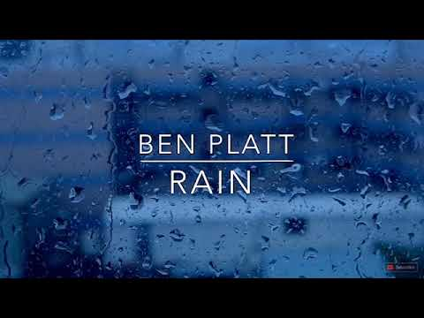 Rain By Ben Platt — Lyric Video