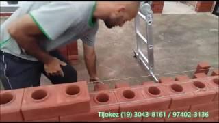 Construindo com Tijolo Ecológico
