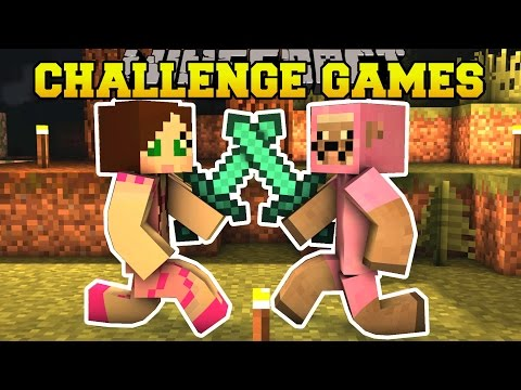Thumbnail: Minecraft: PINK SHEEP VS GAMINGWITHJEN CHALLENGE GAMES - Lucky Block Mod - Modded Mini-Game