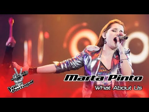 Marta Pinto  What about us Pink  Gala  The Voice Portugal