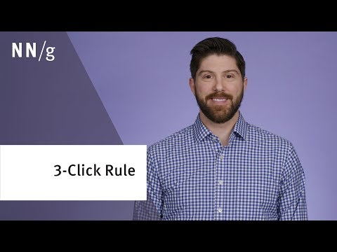 Stop Counting Clicks: The 3 Click Rule Is Nonsense
