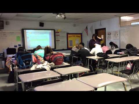 April Smith - Geometry Grade 10 - Hartsville High School Project Teach Video Assignment